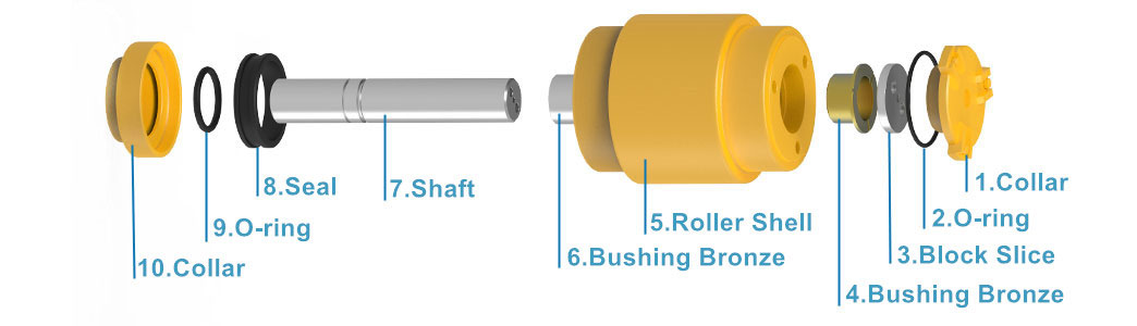 Carrier Roller Structure