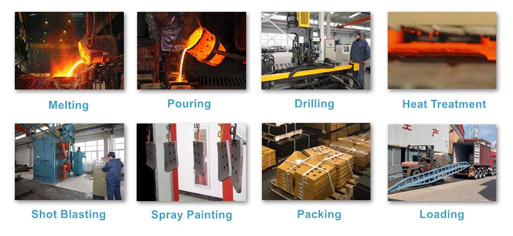 Manufacturing Processes of End Bit